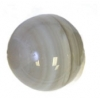 Semi-Precious 10mm Round White Lace Agate